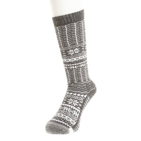SNOW PATTERNED SOCKS PS788SO60 CG