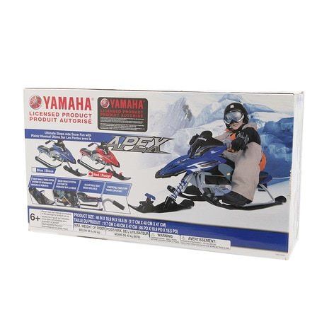 16YAMAHA Apex Snow Bike RED