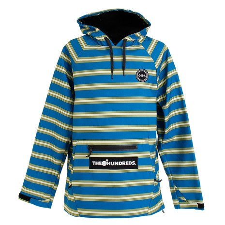 The Hundreds WP フーディー L9WCST02 Strata Blue Stripe