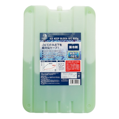 ICE KEEP BLOCK -16℃ 800g 保冷剤 WE27DI10