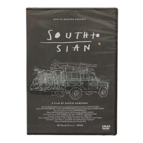 DVD SOUTH TO SIAN