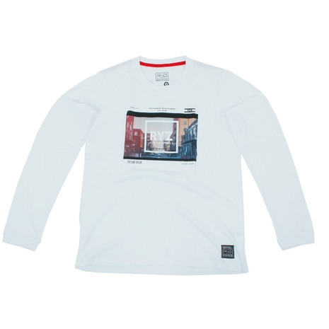 RYZ PHOTO L/S 869R7CD2406 WHT 長袖Tシャツ