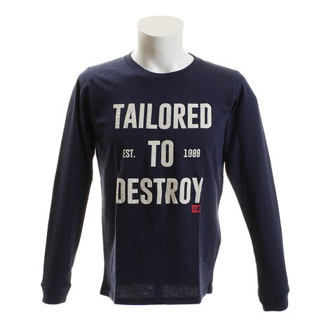 TAILORED TO DESTROY TAILORED TO DESTROY ロングスリーブTシャツ NVY