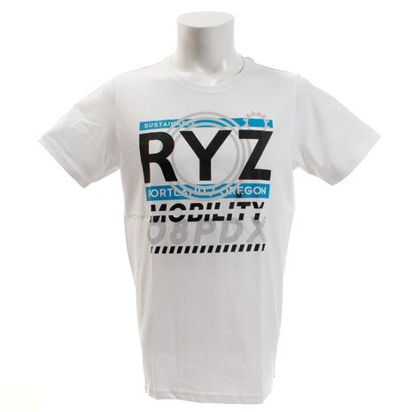 LAYERED TYPE 半袖Tシャツ 869R9CD6319 WHT