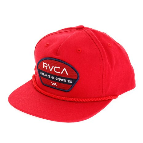 RVCA メンズ OPPOSITE SNAPBACK HAT キャップ AI042905 RED