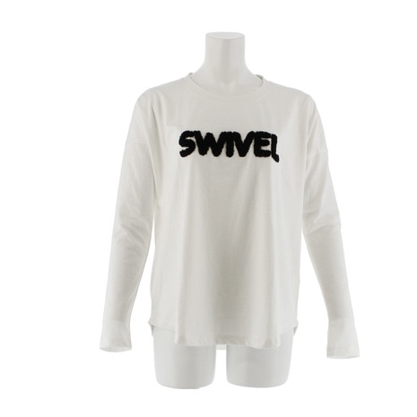 SWIVEL 870SW7CD2452 WHT 長袖Tシャツ