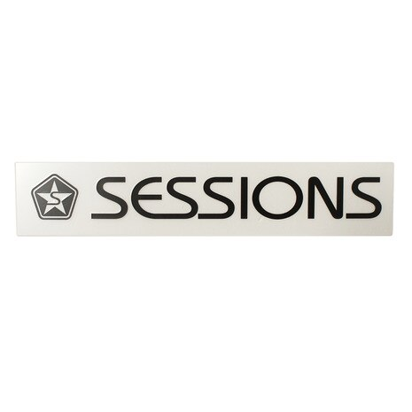 ステッカー SESSIONS BAR LOGO 186024 BLK