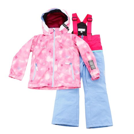 ガールズ SNOW CRYSTAL KIDS TWO-PIECE PS9H22P77 PK