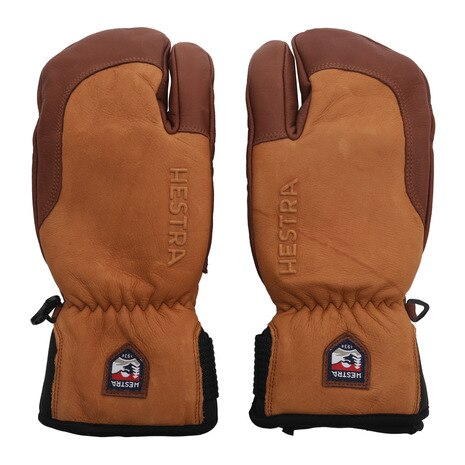 3-FINGER FULL LEATHER SHORT 33872-710750 CorkBrown スノーボード グローブ ミトン