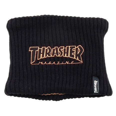 OUTLINE LOGO REVERSIBLE NECK WARMER 19TH-K50