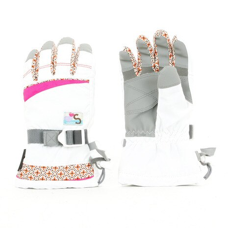 17 JGIRLS DRIVENT GLOVE SR-26JG WHT ホワイト