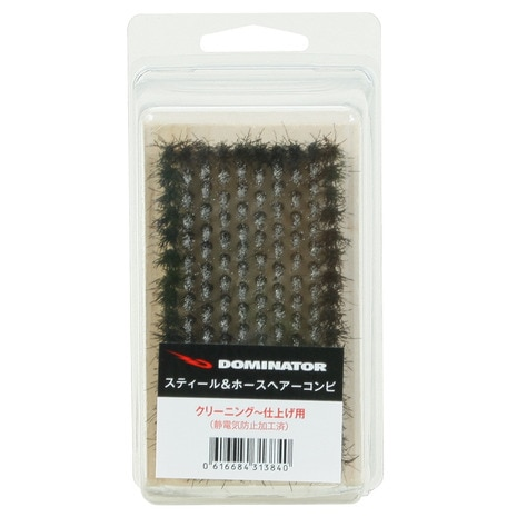 STEEL&HORSEHAIRBRUSH STL&HORSE BRUSH