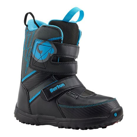 W15 10645100015 15 GROM SNOWBOARD BOOT BLACK/GRAY/BLUE バートン
