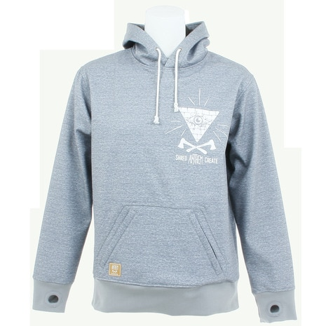 TRIANGLE AN1768 03 SWEAT HEATHER GRAY スノーボード ウェア