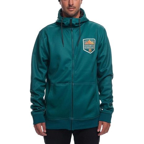 Icon Bonded Zip HD L8WCST01 Hunter Green