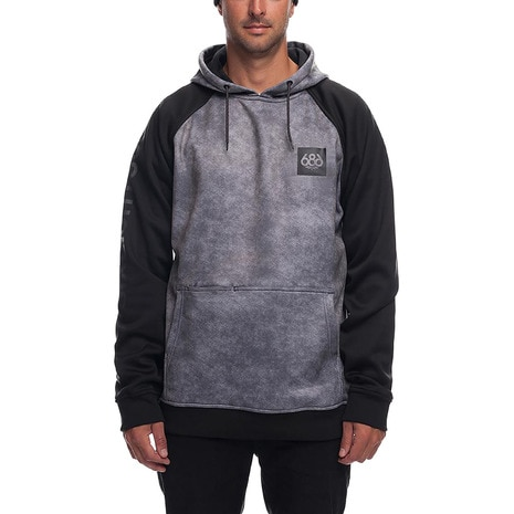 Knockout Bonded PO L8WCST03 Charcoal Wash