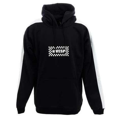 WATER PROTECT CHECKERED LOGO LINE HOODY VPMS19-21 BK