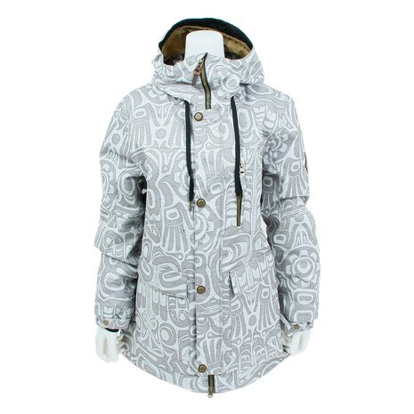 Women's Phoenix Insulated Jacket L7W306 GreyTotem