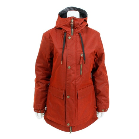 Women's Phoenix Insulated Jacket L7W306 RustyRed