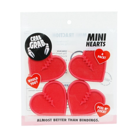 MINI HEARTS RED