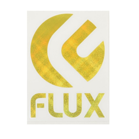 (フラックス) FLUX FCDS523 HOLO DIECUT M80x110 YELLOW