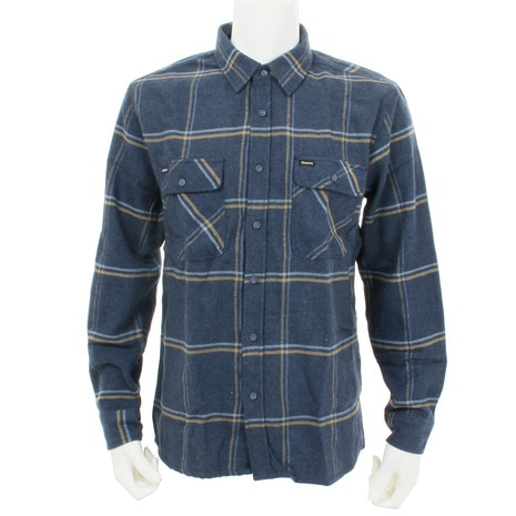 ARCHIE L/S FLANNEL メンズ トップス 長袖シャツ NVY