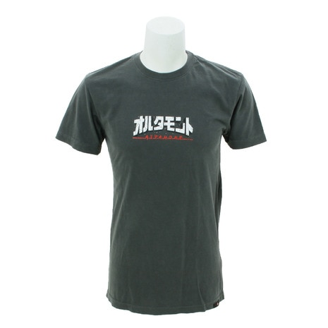 半袖Tシャツ SHRED TEE AT18S1026T CHARCOAL