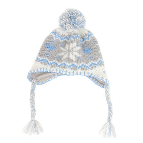 Snow Crystal Girls Earflap